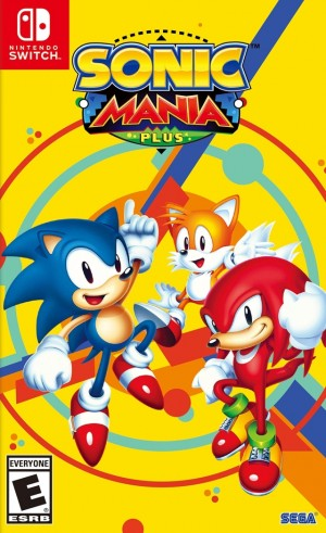 Cover Sonic Mania Plus (Nintendo Switch)