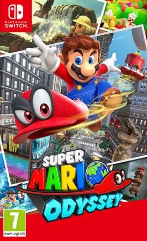Cover Super Mario Odyssey (Nintendo Switch)