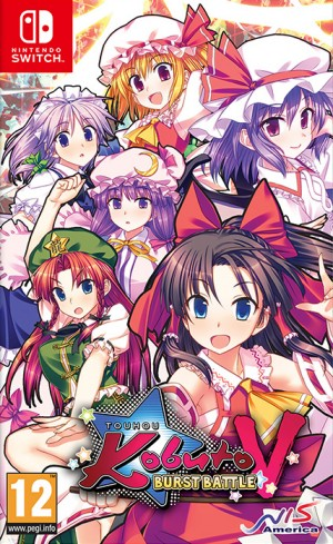 Cover Touhou Kobuto V: Burst Battle
