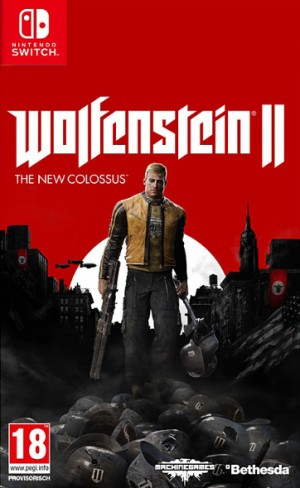 Cover Wolfenstein II: The New Colossus (Nintendo Switch)