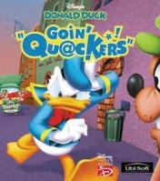 Cover Disney's Donald Duck: Goin' Quackers (PC)