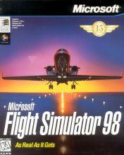Cover Microsoft Flight Simulator 98