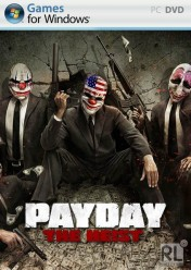 Cover Payday: The Heist