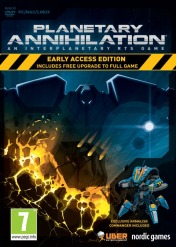Cover Planetary Annihilation
