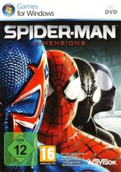 Cover Spider-Man: Shattered Dimensions