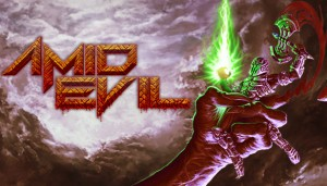 Cover AMID EVIL