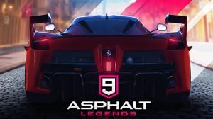 Cover Asphalt 9: Legends