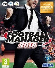 Cover Football Manager 2018 (PC)