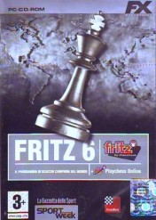 Cover Fritz 6 + Playchess Online