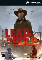 Cover Lead and Gold: Gangs of the Wild West