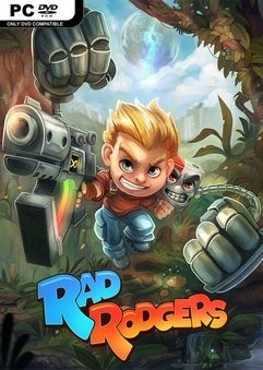 Cover Rad Rodgers: World One