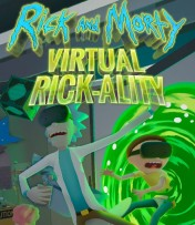 Cover Rick And Morty Virtual Rick-ality
