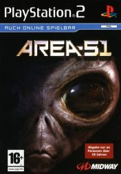 Cover Area 51 (PS2)