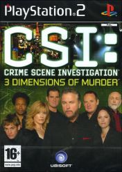 Cover CSI: Crime Scene Investigation: 3 Dimensions of Murder