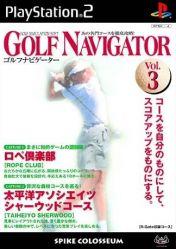Cover Golf Navigator Vol. 3