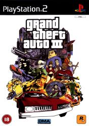 Cover Grand Theft Auto III (PS2)