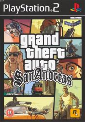 Cover Grand Theft Auto: San Andreas (PS2)