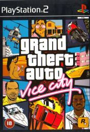 Cover Grand Theft Auto: Vice City (PS2)
