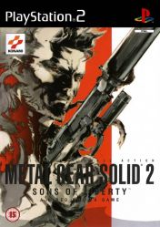 Cover Metal Gear Solid 2: Sons of Liberty (PS2)
