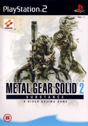 Cover Metal Gear Solid 2: Substance