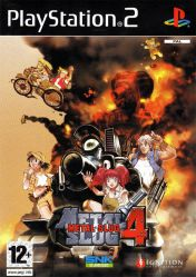 Cover Metal Slug 4 (PS2)