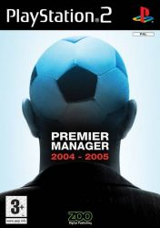 Cover Premier Manager 2004-2005