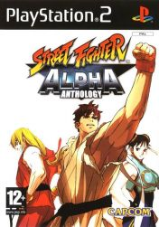 Cover Street Fighter Alpha Anthology