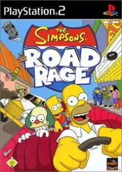 Cover The Simpsons: Road Rage