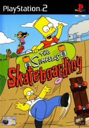 Cover The Simpsons Skateboarding