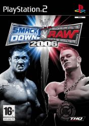 Cover WWE SmackDown! vs. Raw 2006 (PS2)