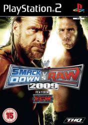 Cover WWE SmackDown vs. Raw 2009
