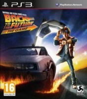 Cover Back to the Future: The Game (PS3)