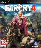 Cover Far Cry 4 (PS3)