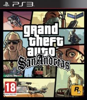 Cover Grand Theft Auto: San Andreas (PS3)