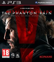 Cover Metal Gear Solid V: The Phantom Pain (PS3)