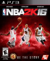 Cover NBA 2K16 (PS3)