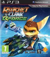 Cover Ratchet & Clank: QForce (PS3)