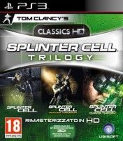 Cover Tom Clancy's Splinter Cell Trilogy HD (PS3)