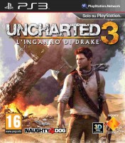 Cover Uncharted 3: L'Inganno di Drake (PS3)