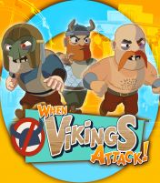 Cover When Vikings Attack! (PS3)