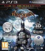Cover Batman: Arkham Asylum G.O.T.Y. Edition