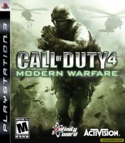Cover Call of Duty 4: Modern Warfare (PS3)