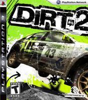 Cover Colin McRae DiRT 2 (PS3)