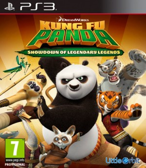Cover Kung Fu Panda: Showdown of Legendary Legends (PS3)