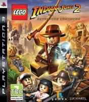 Cover LEGO Indiana Jones 2: L'Avventura Continua
