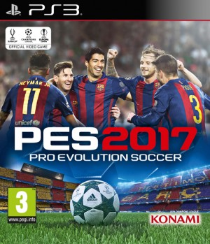 Cover Pro Evolution Soccer 2017 (PS3)