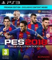 Cover Pro Evolution Soccer 2018 (PS3)
