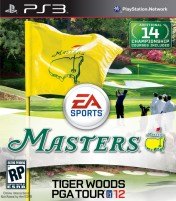 Cover Tiger Woods PGA Tour 12: The Masters