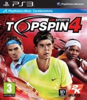 Cover Top Spin 4 (PS3)