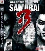 Cover Way of the Samurai 3